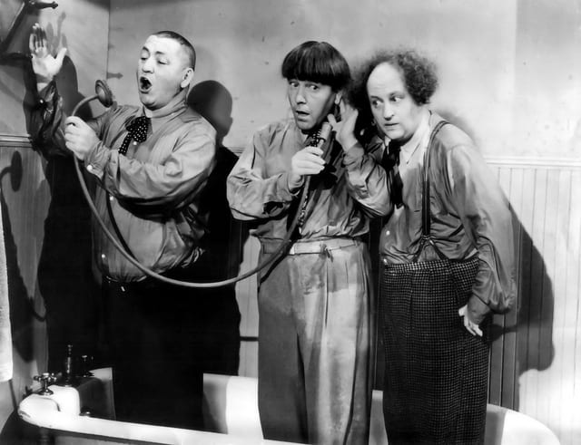 The three stooges - Plumbing Repair in Philadelphia