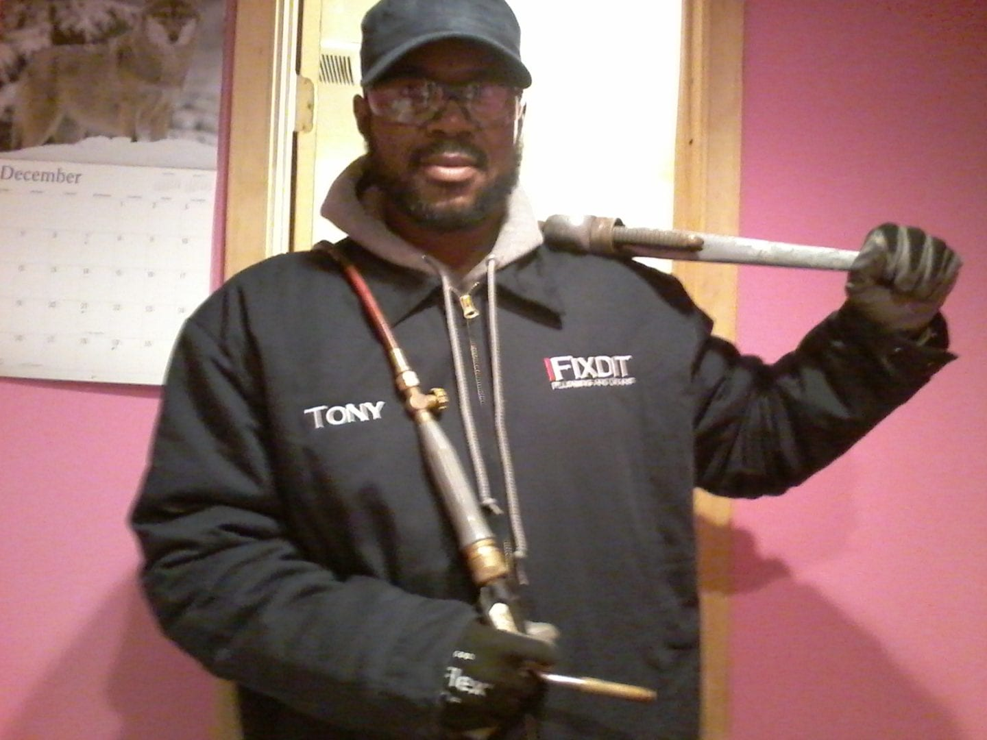 One of our master technicians  - Plumbing Repair in Philadelphia