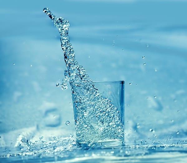 Water in Glass - Plumbing Service Philadelphia